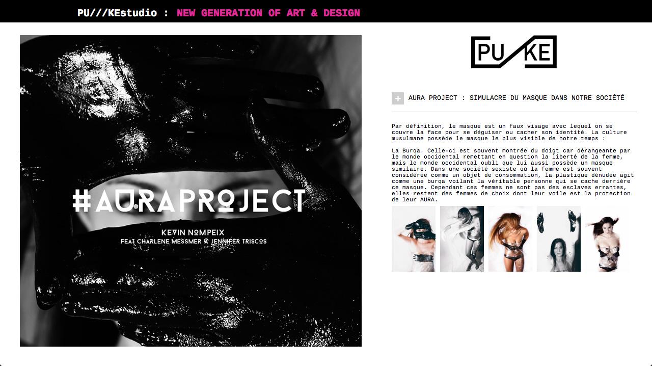 Web design Puke studio